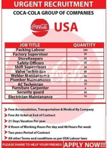 New job vacancy Available here in USA only serious applicant should inbox for more details - 2/2
